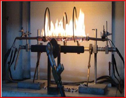 IEC 60331 Test  Düzeneği