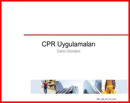 CPR UYGULAMALARI